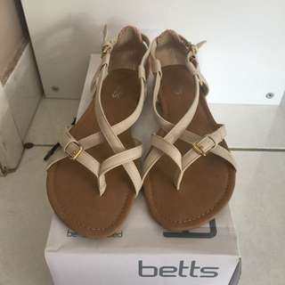 Betts nude sandals