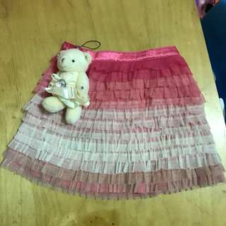 Used Baby Gap layered skirt 2 years old