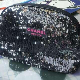 🚚 Chanel 時尚手提包,化妝包