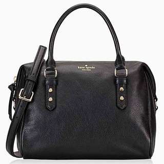 Authentic Kate Spade Julianne Mulberry Bowling Bag