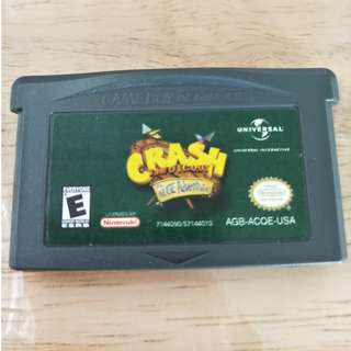 GBA Crash Bandicoot: The Huge Adventure