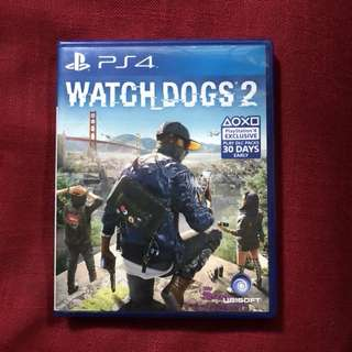 Watchdogs 2 PS4