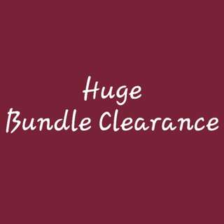 Huge Bundle Clearance Sale