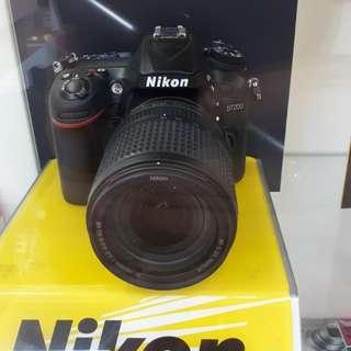 Kamera Nikon D7200 Cash Back 1,8 Juta (Bisa KREDIT Murah)