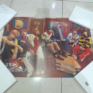 BTS Love Yourself Poster ver. E