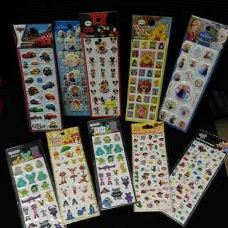🚚 迪士尼貼紙 x10 pieces