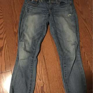 size small, blue jeans from American eagle