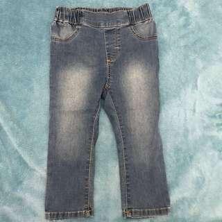 H&M 女童牛仔褲 12-18m