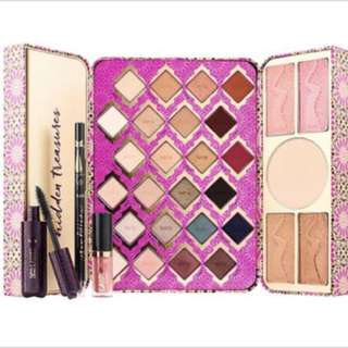 (100% authentic) Tarte limited-edition treasure box collector's set