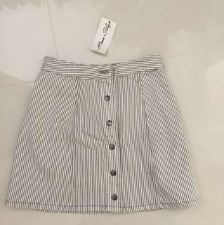 Miss shop high waisted skirt