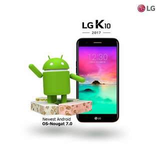 LG K10 2017 Bonus Handsfree Bluetooth
