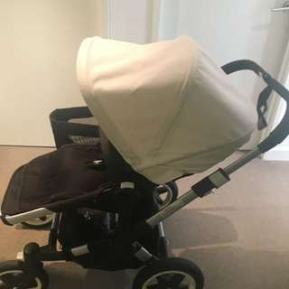 ** Urgent Sale - Bugaboo Sand Donkey Mono (Silver Chassis ) **