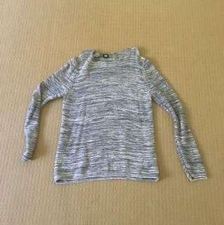 H&M blue jumper