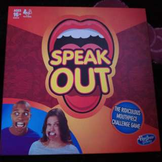 Speak Out The Ridiculous Mouthpiece Challenge Game