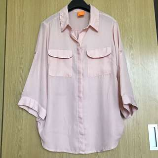Thrift touch of pink Polo