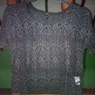 Black top lace #awaltahun
