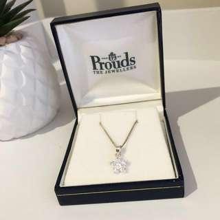 Flower pendant necklace SALE