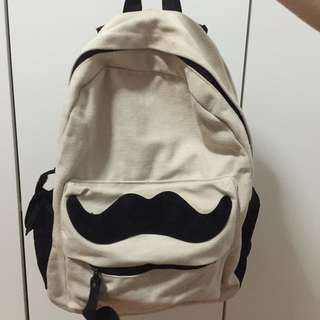 Backpack (moustache design)