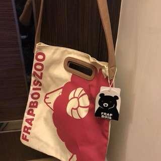 Frapbois zoo tote bag