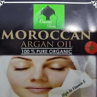 Moroccan 100% pure organic argan oil