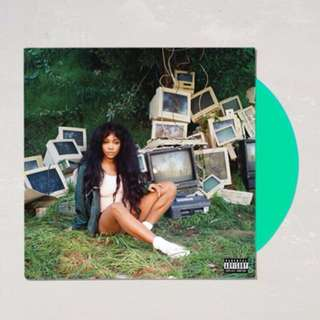 SZA - CTRL LP Vinyl (Teal Colored)
