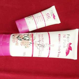 Fair n Pink CC cream dan lotion