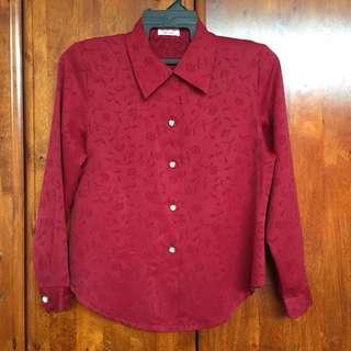 Buttons Shirt Satin