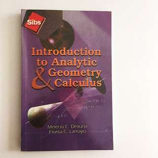 Introduction to Analytic & Geometry Calculus