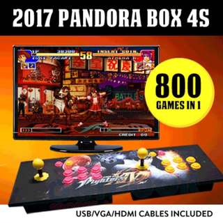 Arcade Game Console 4S 800 Retro English Games With 1 Month Warranty / Plug and Play in TV and Moniter