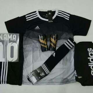 Baju Futsal/Bola (M.L.XL). 1set +Nama NoPunggung