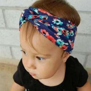 Baby Girl Floral Headband