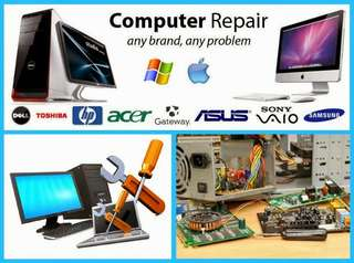 Computer repair and service
