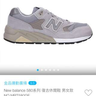 New balance580女鞋