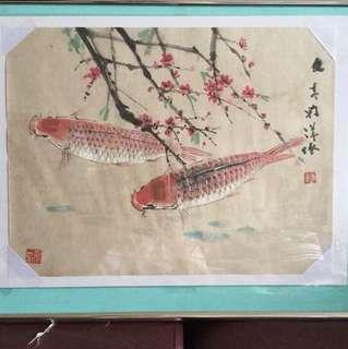 画家陈文希   Chinese painting (Not for sale 非卖品