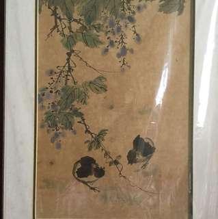 画家吳在炎  Chinese painting (Not for sale 非卖品