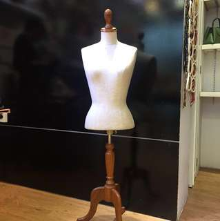 Wood Mannequin Stand - Buy or rent