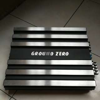 GroundZero 4channel Car Amplifier