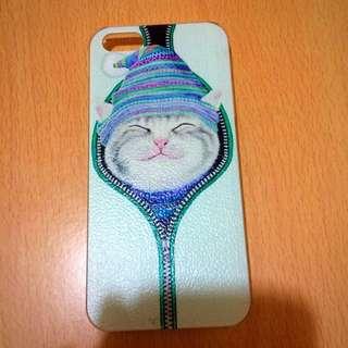🐱貓咪iPhone5s電話殼🍎📱