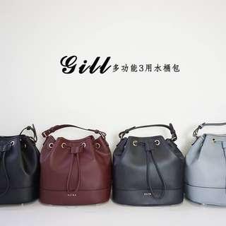 Authentic Taiwan S'aime Gill 3 way bucket bag