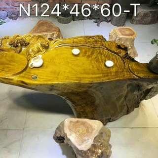 🚚 金絲楠木天然桌腳