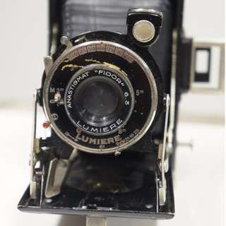 Lumiere Folding Bellows 620 Camera from France Vintage