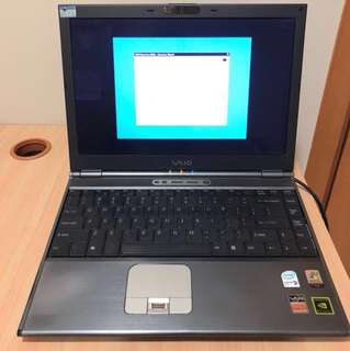 Working Vaio laptop (windows XP SP 2)