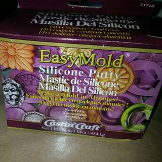 Easy mold silicone putty