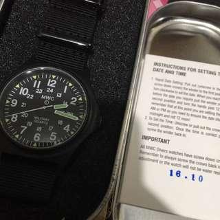 MWC 錶 watch g10 軍錶