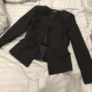 Black ladies blazer