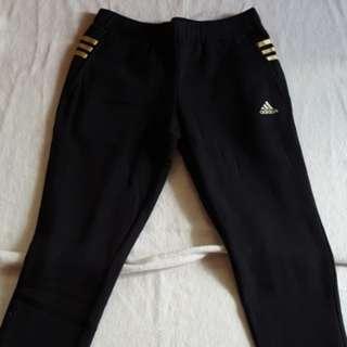 Adidas刷毛長褲