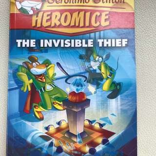 Geronimo - Heromice - The invisible thief