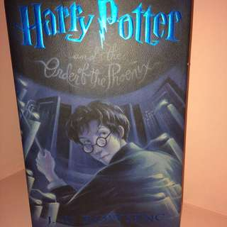 HARRY POTTER and the Order of the Phoenix by JR Rowling (Hard bound)