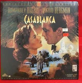 Laser Disc Movie Casablanca