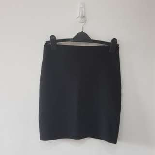 Warehouse Black Skirt
